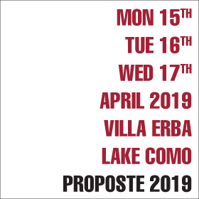 Proposte 2019 date